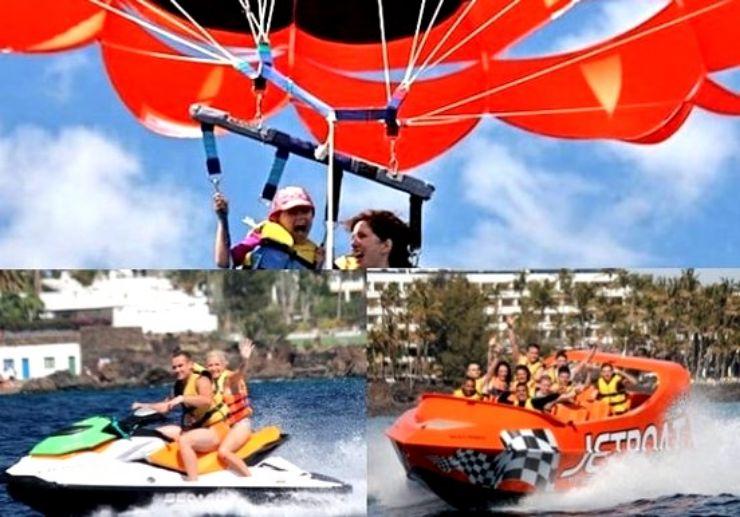 Watersports combo packs in Puerto del Carmen