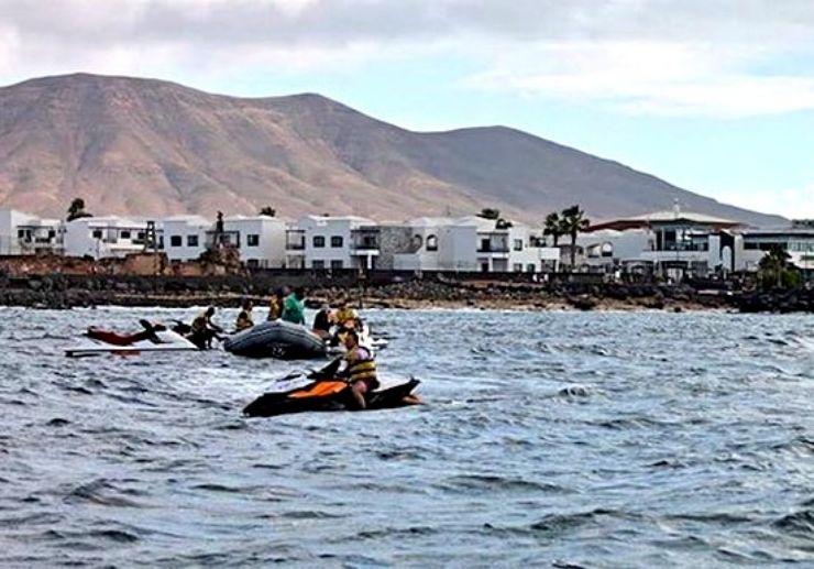 Discover Lanzarote coastline on jetski tour