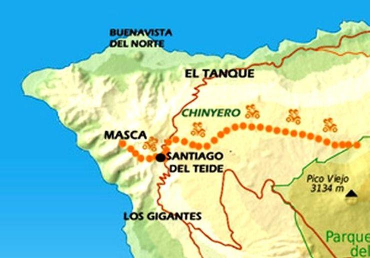 Masca quad tour map