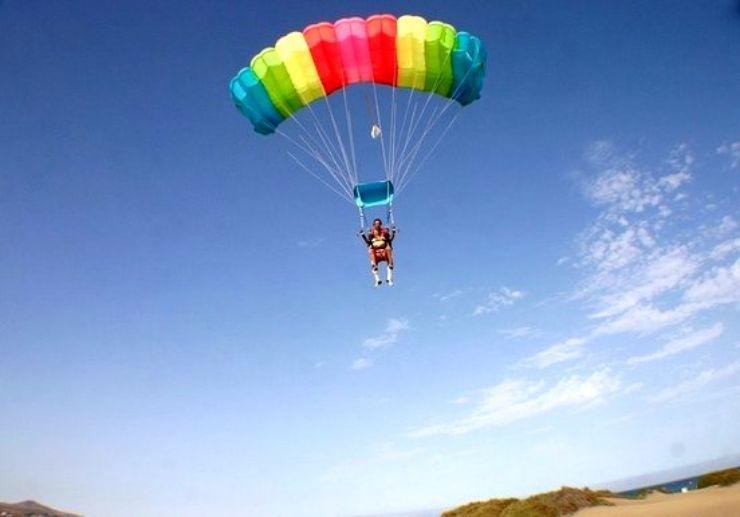 Tandem skydiving Gran Canaria