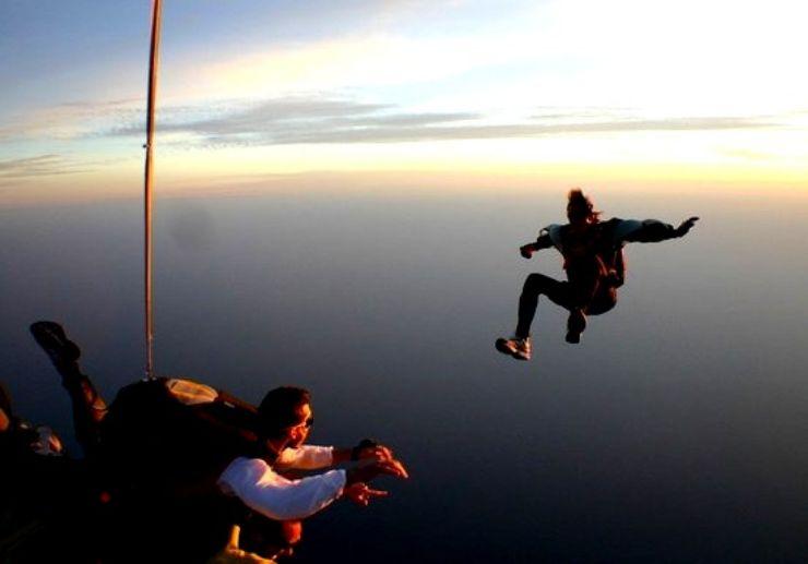 Gran Canaria skydiving Maspalomas