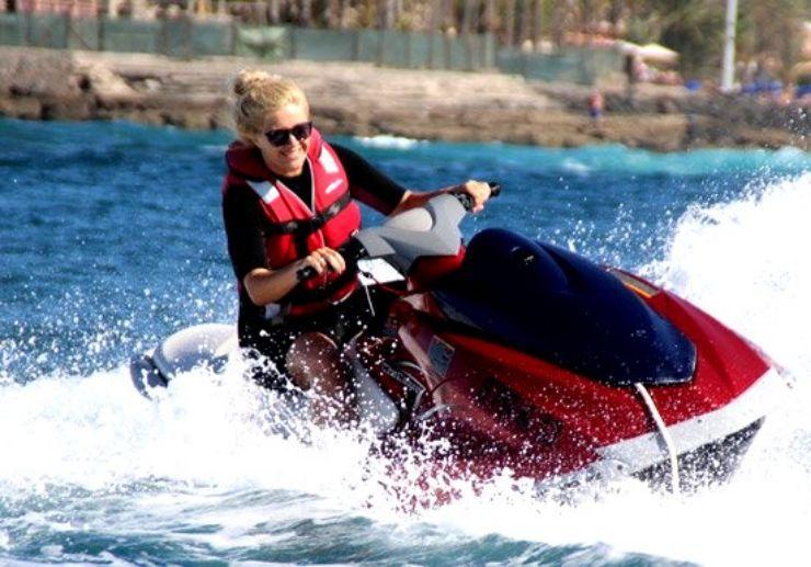 Jet ski and quad combo adventure in Tenerife