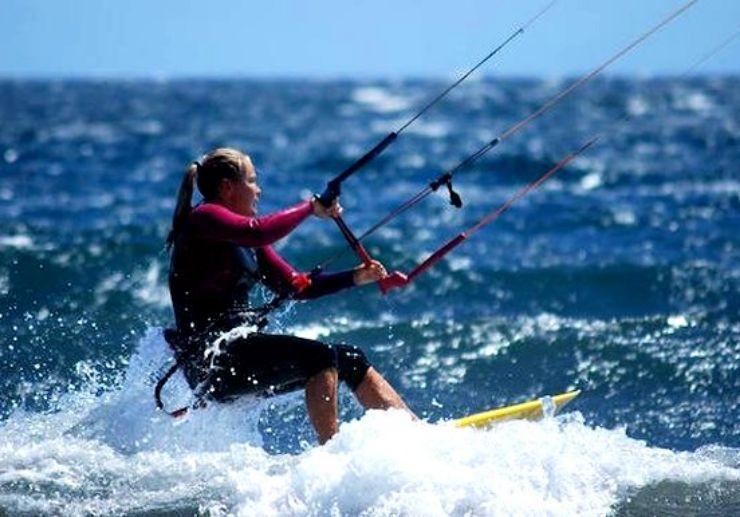 Kitesurfing in El Medano Tenerife
