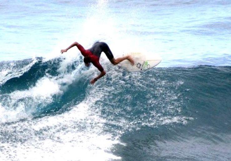 Surf the waves in El Medano Tenerife