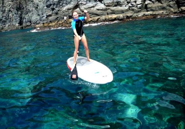 Stand up paddle tour El Medano
