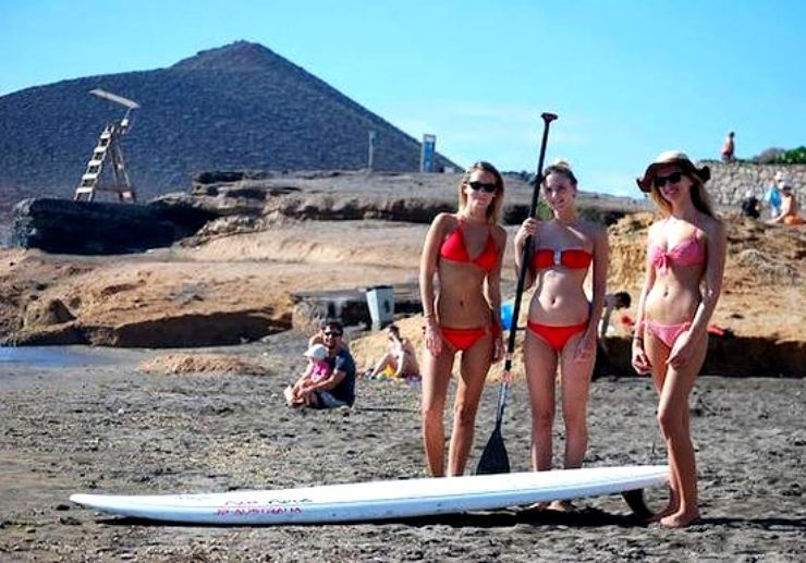 Learn how to  Stand Up Paddle in El Medano