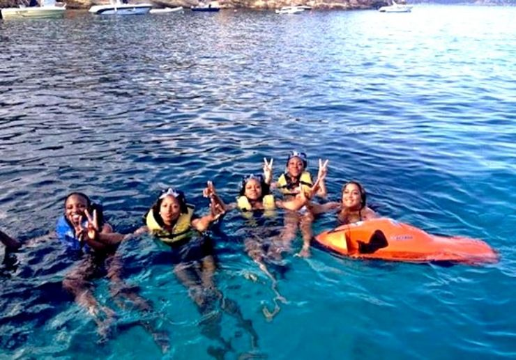 Swim the crytal clear waters of Ibiza