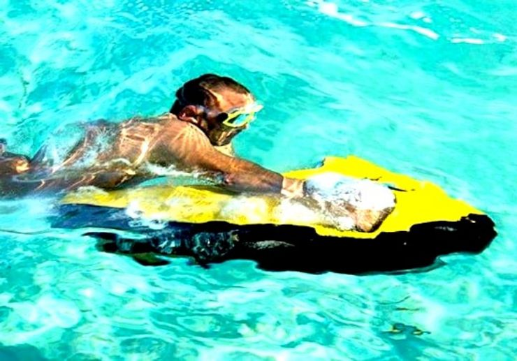 Try out Seabob when you join our speedboat tour