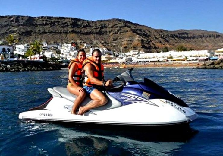 Gran Canaria jetski safari tour