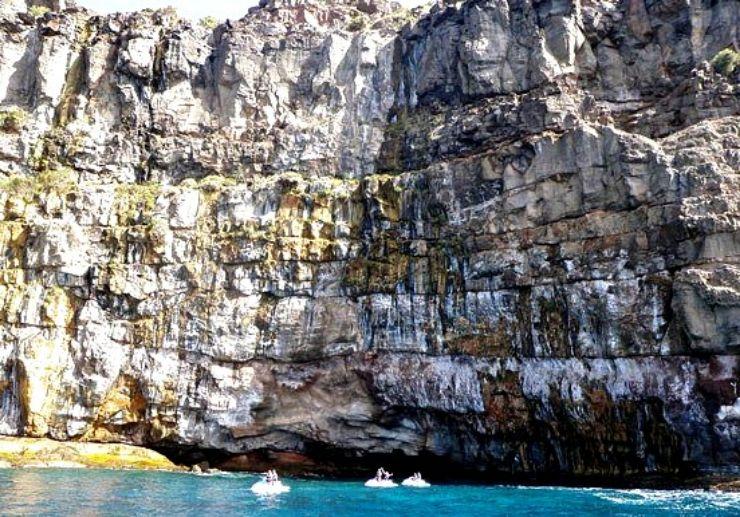 Jetski safari southern coast of Gran Canaria