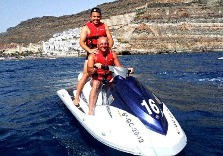 Playa del Ingles jetski circuit