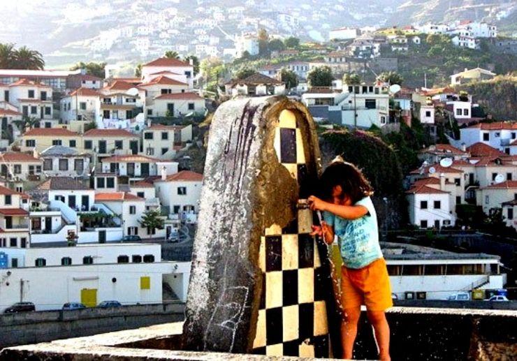 Jardim da Serra village in West Madeira