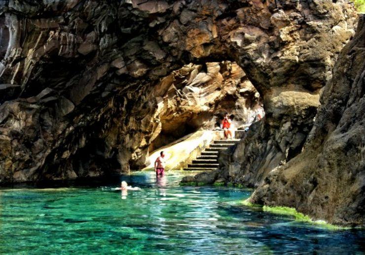 Enchanted pool in Porto Moniz Madeira