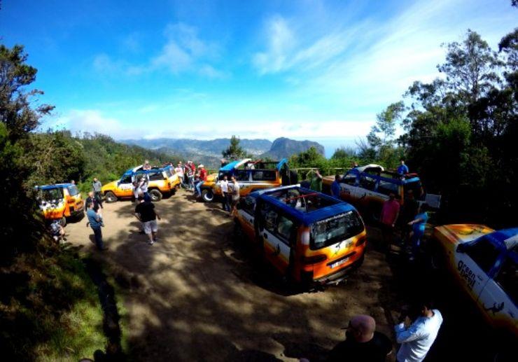 Madeira jeep excursion Eastern peaks