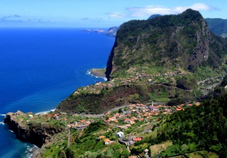 Impressive landscape of Eastern Madeira