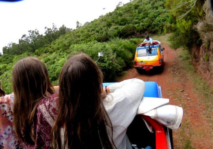 Madeira open top jeep tour