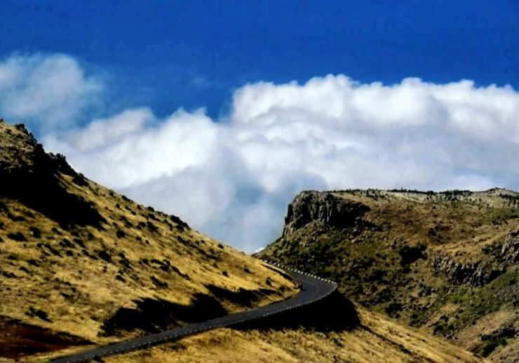 Landscapes and clouds Madeira jeep tour