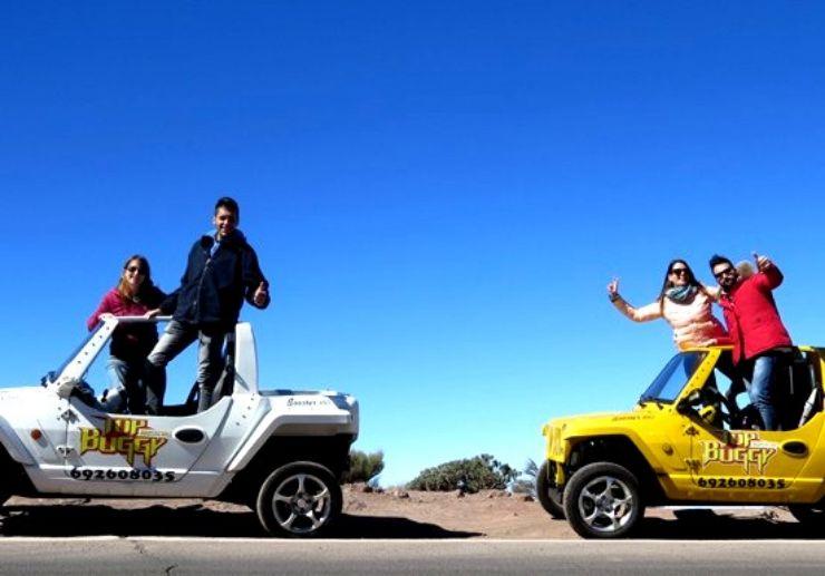 Buggy ride adventure in Las Americas