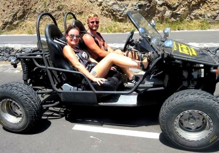Buggy ride adventure in Tenerife