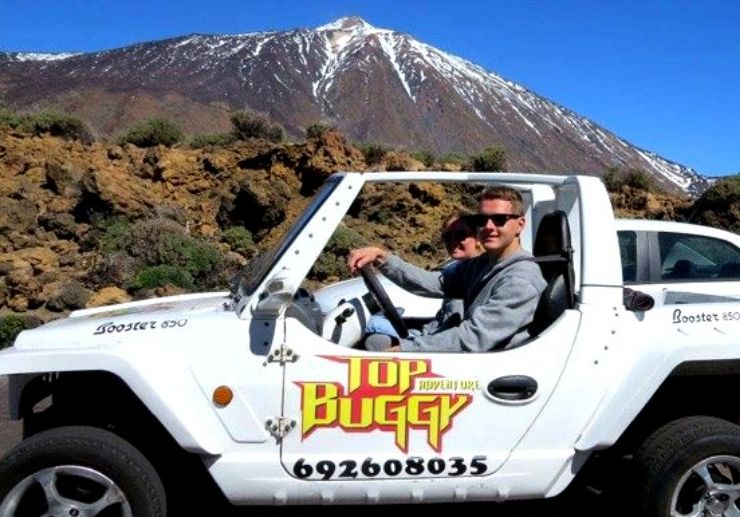 Buggy tour in Teide National Park