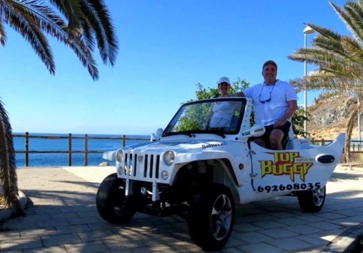 Adventure buggy ride along Tenerife coast