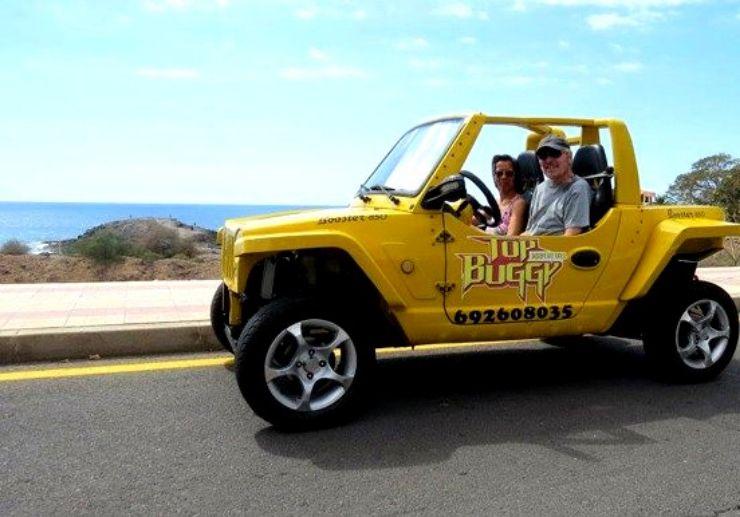 Buggy tour along coast of Las Americas