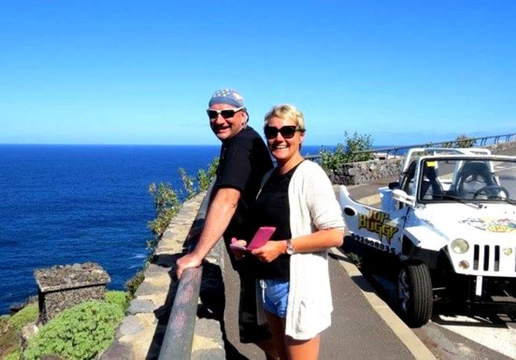 Coastal buggy tour in south Tenerife