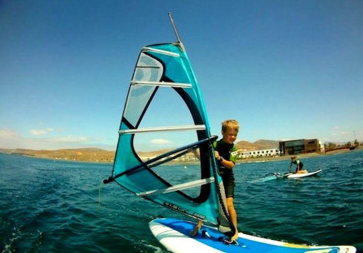 Learn how to windsurf in Fuerteventura
