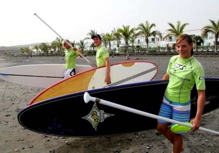 Get ready to stand up paddle