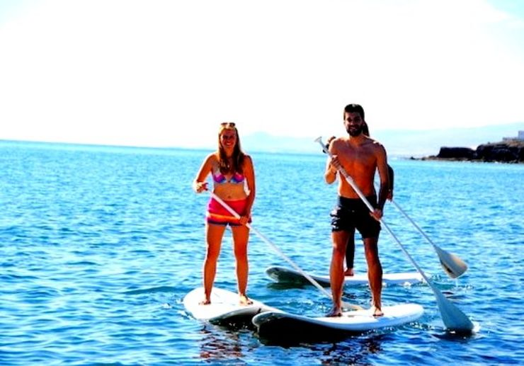 Stand up paddle course in Fuerteventura