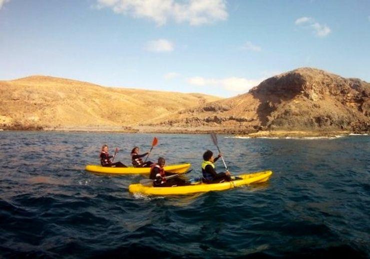 Fuerteventura kayaking and snorkelling