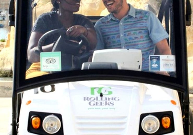 3 hours Funfilled Malta electric buggy tour