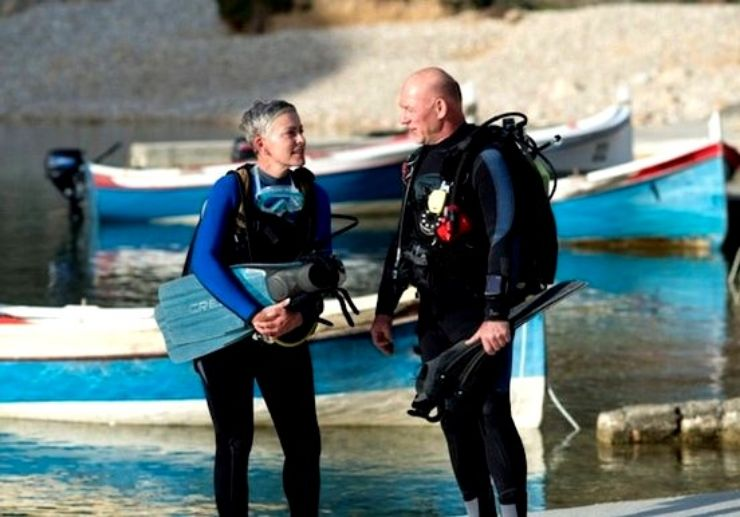 Dive excursion and lessons in Gozo