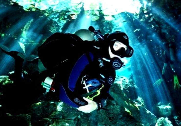 Amazing diving in Gozo island, Malta