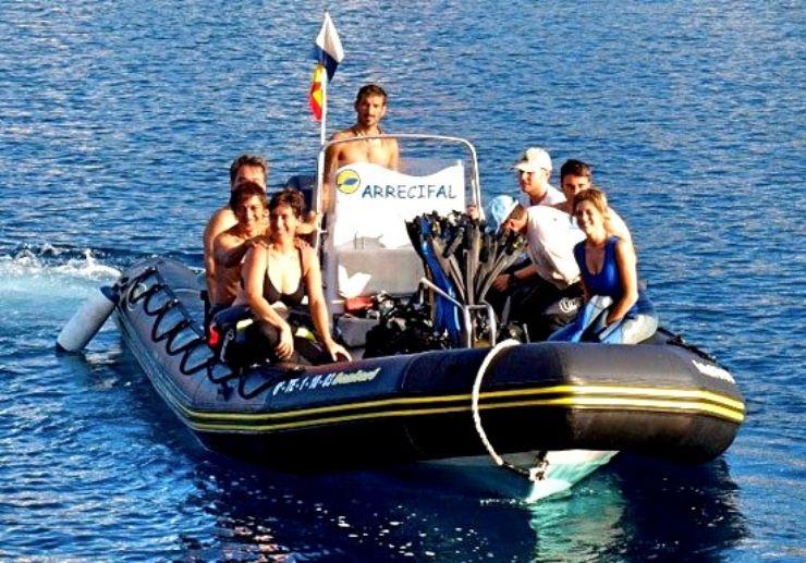 El Hierro boat diving