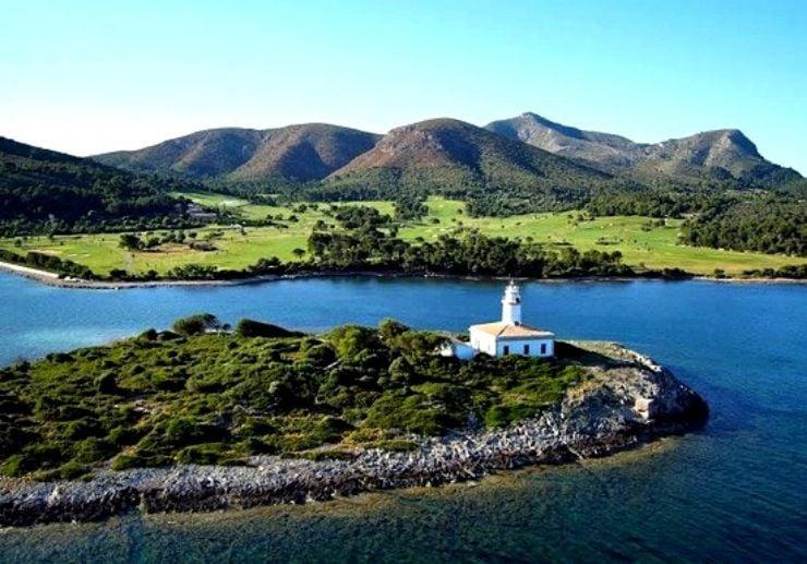 Alcanada island and lighthouse boat trip