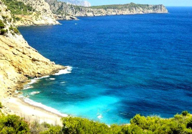 Boat tour to Coll baix Mallorca