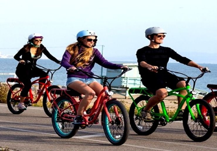 Electric bike from Playa del Ingles