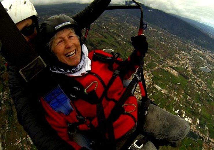 Paragliding age is not a limit