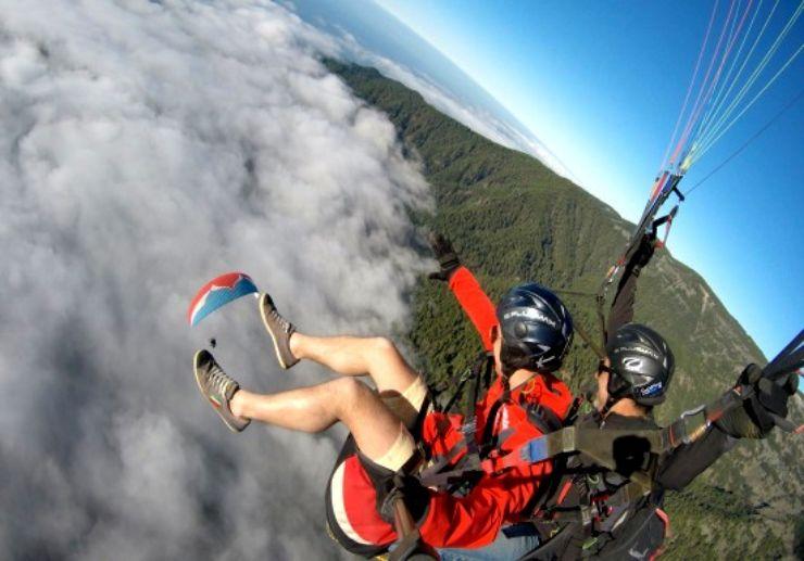 Teide paragliding in Tenerife