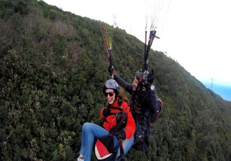 Adrenaline paragliding Tenerife