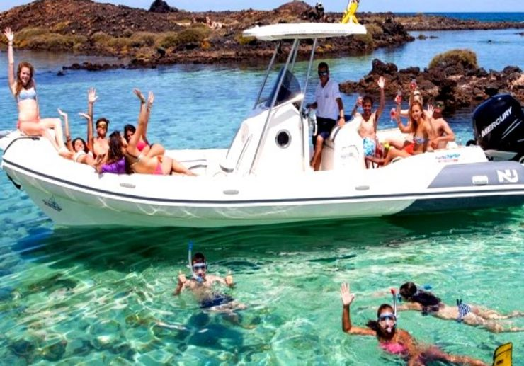 Enjoy swimming and snorkelling in lagoon