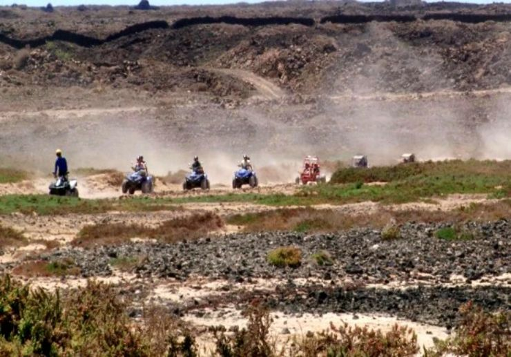 Quad and buggy Corralejo tour