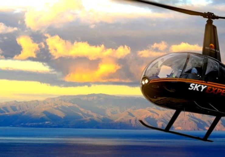 Explore Tenerife on a helicopter tour