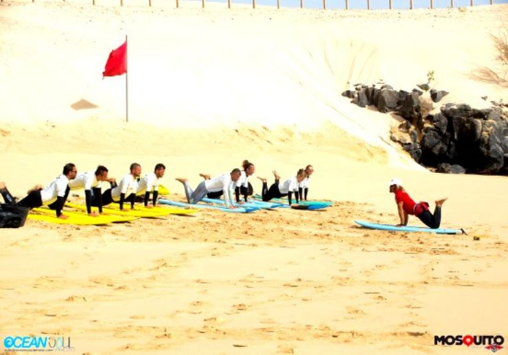 Group Surf lesson in Fuerteventura