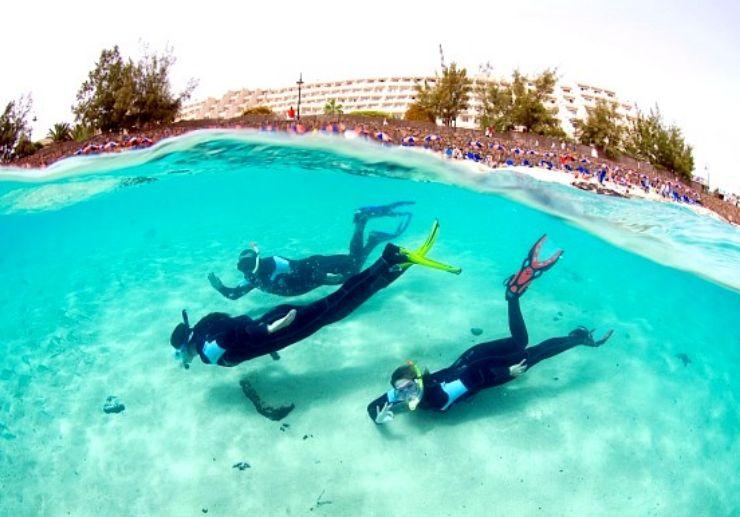 Full Snorkelling rental pack Lanzarote
