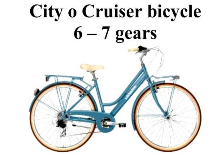 City or cruiser bike rental Maspalomas