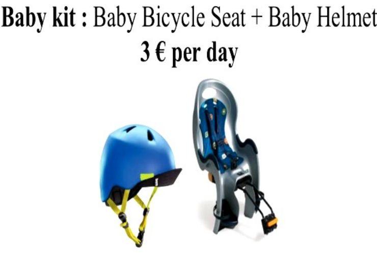 Bicycle Baby kit for MTB hire Maspalomas