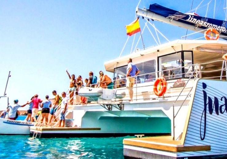 La Graciosa luxury catamaran trip