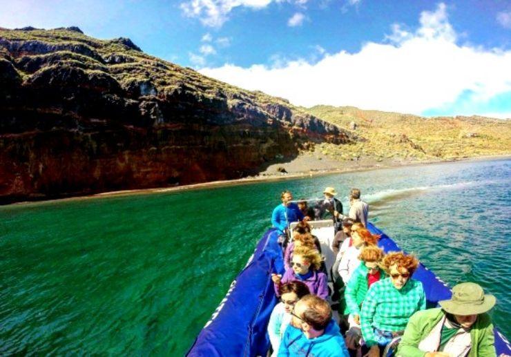 Boat excursion Anaga coast in Tenerife